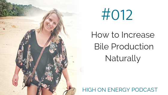 How to Increase Bile Production Naturally