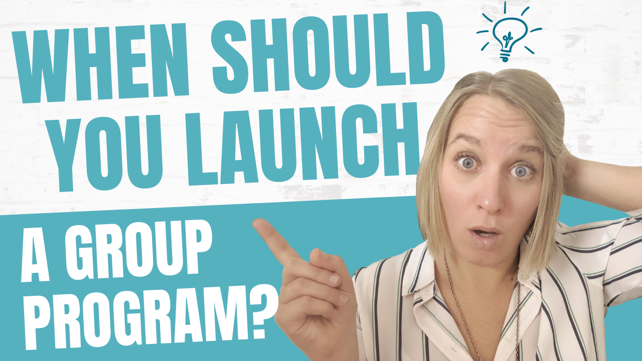 Product Launch Timeline for Your Group Program